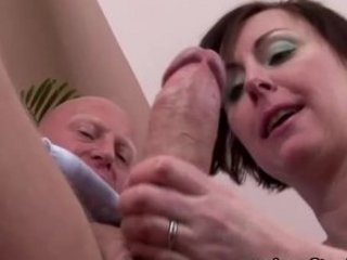 older stocking classy lady oral sex