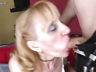 grandmother receives screwed by her toyboy