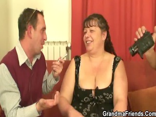chaps gangbang overweight aged bitch