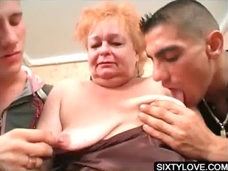 aged honey engulfing big dicks
