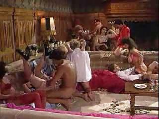 eighties hardcore group sex porn with hawt milfs