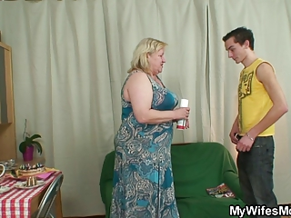 wife acquires enraged when finds her man fucking