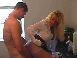 hot breasty blond granny cougar julia