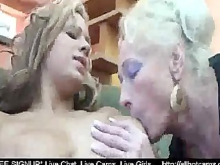 hot cutie fuck two older lesbos at one time