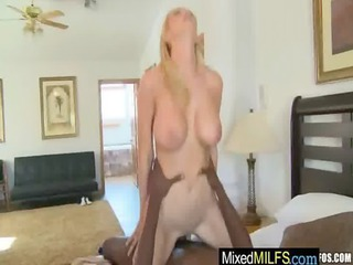sexy milfs get fucked hard by darksome jocks