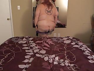supersize slutty milf striptease