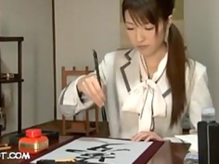 calligrapher beauty av fucking
