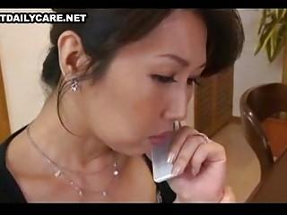 older oriental threesome