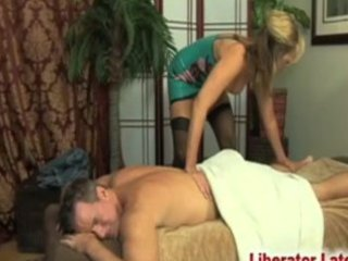 "guy""massaged"" by d like to fuck in latex"