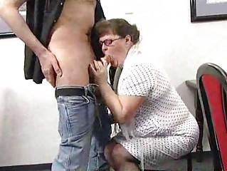 corpulent bushy mom
