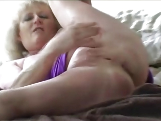 delightful granny fingering
