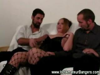 mature amateur trio