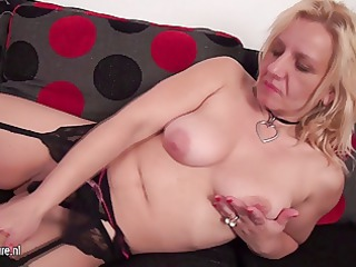 wicked housewife playing with her vagina on the
