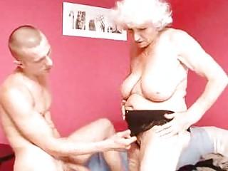 mature granny betty bonks youthful jock