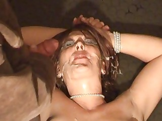 dilettante wife outlandish bukkake fetish