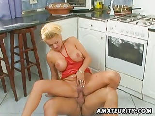 breasty amateur mother i anal and facial in the