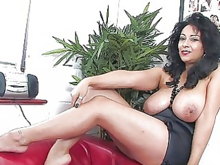bewitching darksome haired d like to fuck with