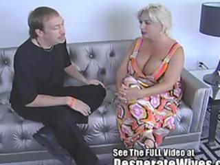 indecent ds groupie claudia marie gets fed his cum