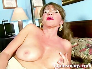 sexually excited lonely wife doing a solo
