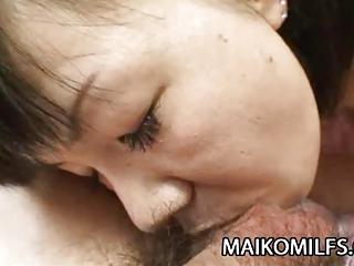 mature japanese yoshie tabata recieves a warm