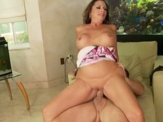 mature cougar margo banging stepson