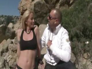 blonde d like to fuck anal licked by stefano