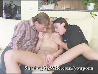 nasty threesome with wife