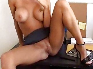 blonde d like to fuck sucks weenie in the office