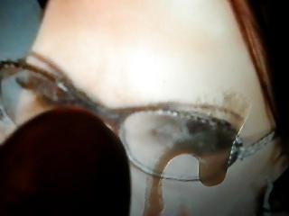 virtual bukkake tribute to mature in glasses