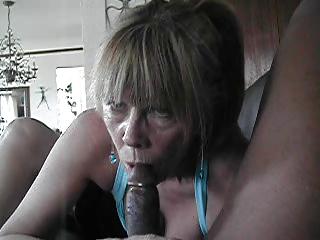 granny on dark cock...