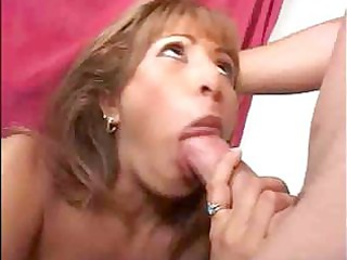 cute milf receives her muff licked and sucks his