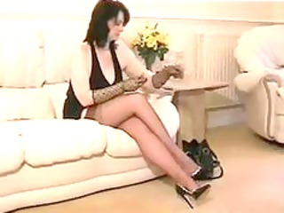 nylon granny in ffstockings aged older porn