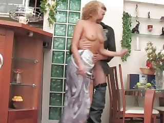 consummate russian mature with young chap