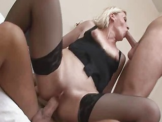 kinky older golden-haired in wild groupsex!