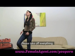 femaleagent. it is started with a kiss