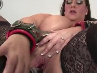 big beautiful woman milf acquires sex toy screwed