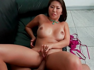 hawt oriental wife receives brutally pumped