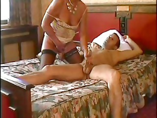 hawt mamma n104 dark brown aged on a bed