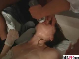 lascivious oriental milf receive hawt sex act