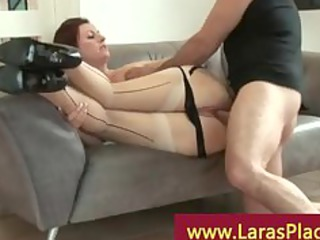 breasty older receives drilled unfathomable