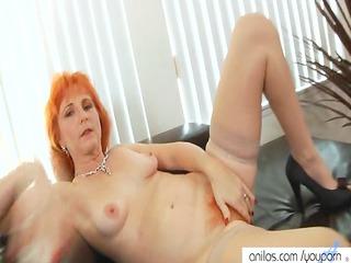 redhead mom dildos curly muff