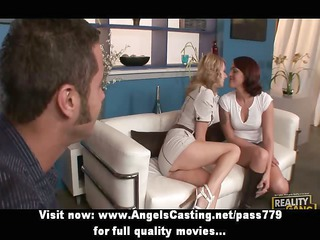 hawt sexy swinger angels have their vagina licked