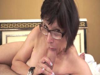 hot grandma loves youthful weenies