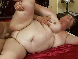 unsightly fat granny acquires drilled marvelous