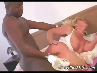 big tit mature interracial rear screwed