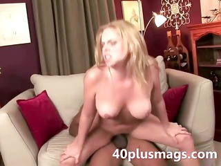 divorcee wench interracial fucked