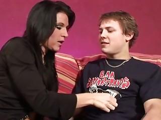 milf seduces her sons friend