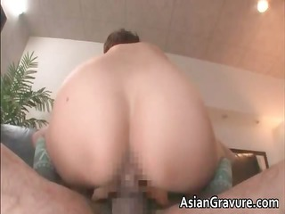naughty oriental mother i gets jizzed after