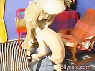 old mamma spanks him and then fucsk him oral
