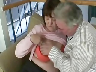old grandfather fuck this lascivious granny wench